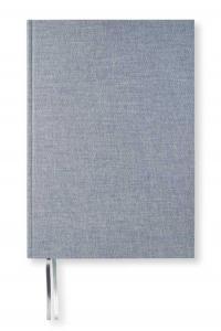Paperstyle Olinjerad Blank Book A4 192 sidor Denim - Kalenderkungen.se
