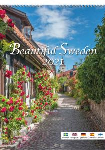 Burde Förlag Beautiful Sweden 2021 - Kalenderkungen.se