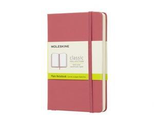 Moleskine Moleskine Plain Classic Notebook Pocket - Rosa - Kalenderkungen.se