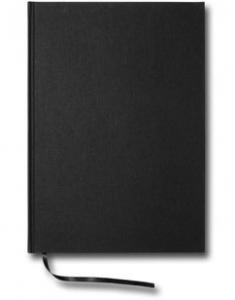 Paperstyle Linjerad Notebook A4 192 sidor Black - Kalenderkungen.se