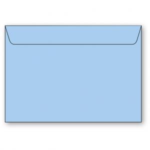 C4 Kuvert 5-pack 110g Ljusblå