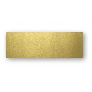 Placeringskort Enkla 10-pack 220g Guld