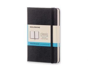 Moleskine Moleskine Dotted Classic Notebook Pocket - Svart 9x14cm - Kalenderkungen.se