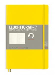 Leuchtturm Notebook dotted Lemon
