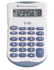 Texas Instruments Miniräknare TI-501 - Kalenderkungen.se