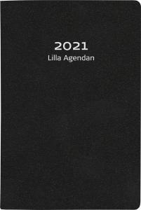 Lilla Agendan svart konstläder 2021