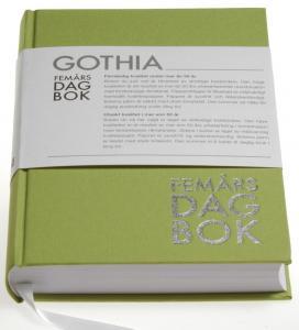 Rationella Media 5-årsdagbok Grön - Kalenderkungen.se