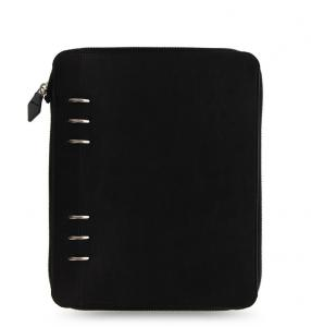 Clipbook Classic Mono A5 Zip Notebook Black