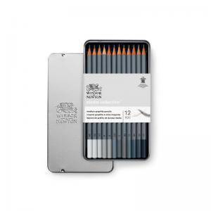 Blyertspennset Winsor & Newton 12-pack