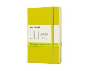 Moleskine Moleskine Plain Classic Notebook Pocket - Gul - Kalenderkungen.se