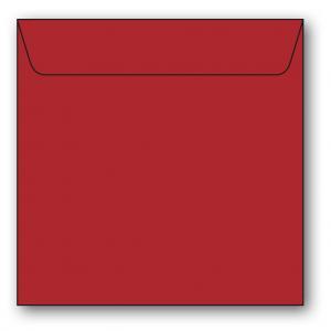 Kvadratiska Kuvert 5-pack 110g Röd