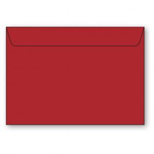 C4 Kuvert 5-pack 110g Röd