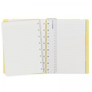 Filofax Notebook Lemon linjerad