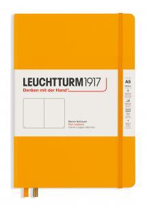 Leuchtturm Notebook A5 hard 249s Rising Sun olinjerad