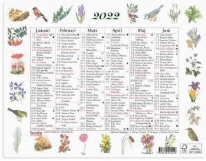Lilla Naturalmanackan 2022