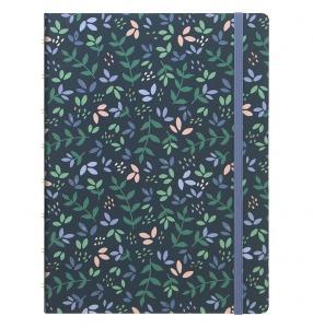 Filofax Notebook A5 Garden Dusk