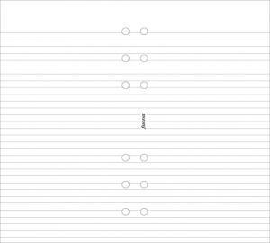 Filofax Linjerade vita personal - Kalenderkungen.se