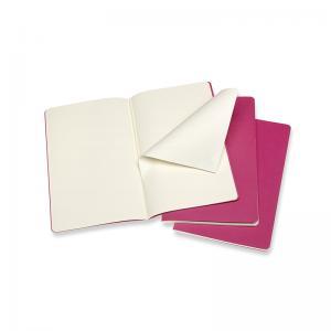 Moleskine Moleskine Cahier Journal PlainLarge Pink - Kalenderkungen.se