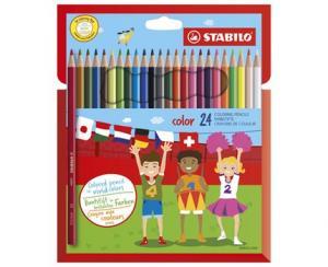 Stabilo Stabilo Color 24-pack - Kalenderkungen.se