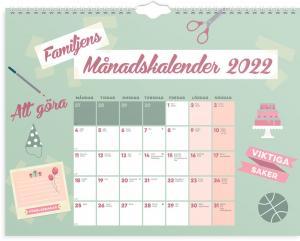 Familjens Månadskalender 2022