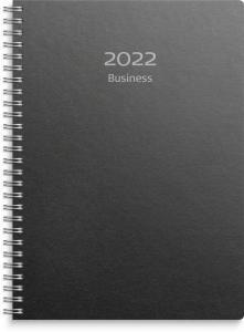 Business A5 svart miljökartong 2022