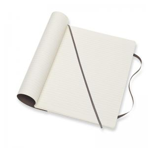 Moleskine Moleskine Notebook X-large Soft Cover - Brun - Linjerad - Kalenderkungen.se