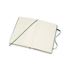 Moleskine Moleskine Classic Hard Large Plain Notebook Myrtle Green - Kalenderkungen.se