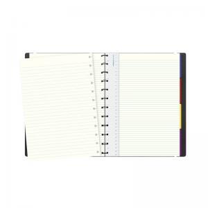 Filofax Filofax Notebook A4 linjerad svart - Kalenderkungen.se