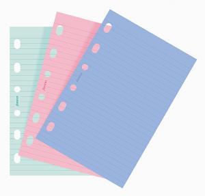 Filofax pocket linjerade fashion 30st sorterade färger fashion