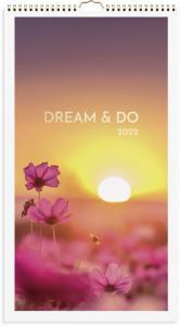 Familjekalender Dream & Do 2022