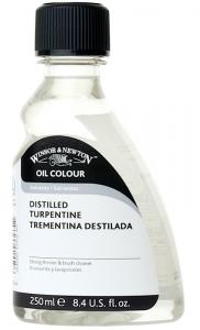Oljemedium Winsor & Newton Distilled Turpentine 250 ml