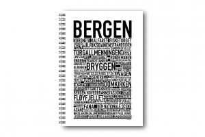 Anteckningsbok Bergen