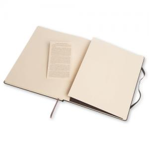 Moleskine Notebook X-large Hard Cover - Svart - Linjerad