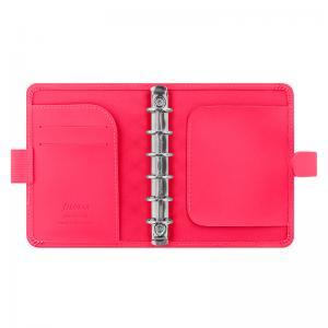 Filofax Filofax Saffiano pocket Fluoro Pink - Kalenderkungen.se