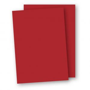 Kartong A4 5-pack 220g Röd