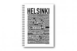 Anteckningsbok Helsingfors