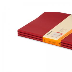 Moleskine Cahier Journal X-Large Ruled - Röd