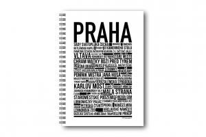 Anteckningsbok Prag