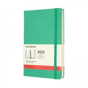 Moleskine Moleskine Daily Green Hard Large 2022 - Kalenderkungen.se