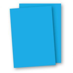 A4 Papper 10-pack 110g Azurblå