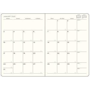Kalender Leuchtturm1917 B6 Soft Monthly Planner 16m Port Sage 2022