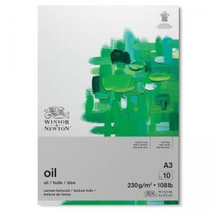 Oljemålningsblock Winton A3 10 ark 230g