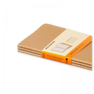 Moleskine Cahier Journal Pocket Ruled - Natur