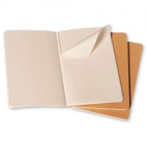 Moleskine Cahier Journal Large Plain - Kraft