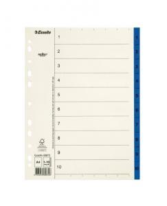Emo Register servo A4 1-10 blå - Kalenderkungen.se