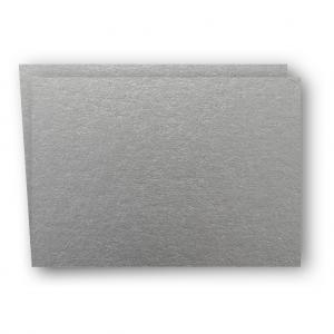 A7 Kort dubbla liggande 5-pack 220g Silver