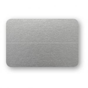 Placeringskort Dubbla 10-pack 220g Silver