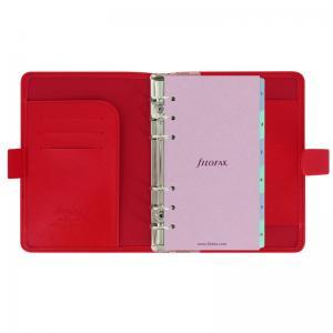 Filofax Filofax Saffiano Personal röd - Kalenderkungen.se