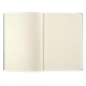 Leuchtturm1917 Leuchtturm Notebook A5 hard 249s Black linjerad - Kalenderkungen.se