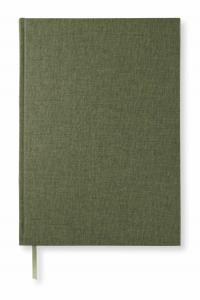 Paperstyle Olinjerad Blank Book A4 192 sidor Khaki Green - Kalenderkungen.se